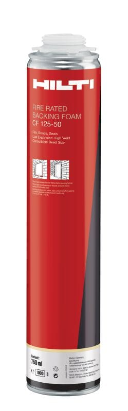 CF125-50 insulating foam sealant Self-expanding polyurethane foam sealant ideal for filling, sealing and insulating