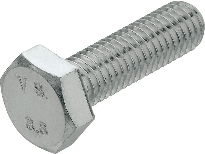 Hexagon bolt (A2 stainless steel)