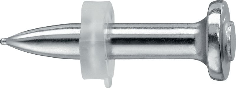 X-CR P8 Stainless steel single nail for steel and concrete, for powder-actuated tools