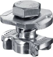 MQN-R Channel connector (A4 stainless steel)
