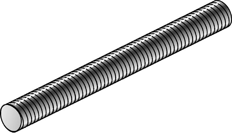 AM Hot-dip galvanized threaded rod