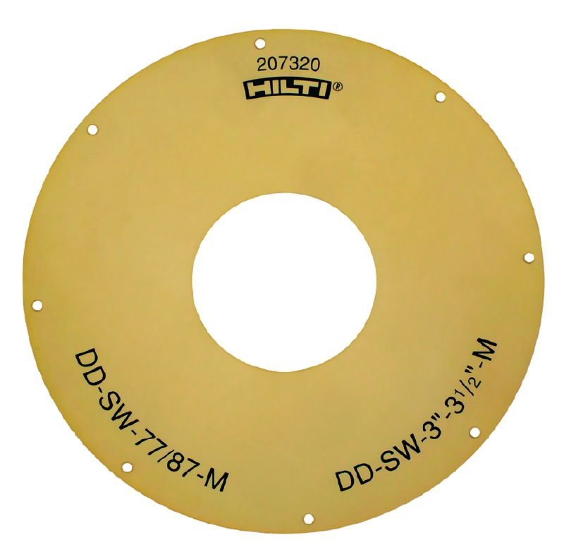 DD-SW-M Sealing for the DD-WC-SM water dam for core bit diameters from 24 mm (15/16) to 162 mm (6 3/8)